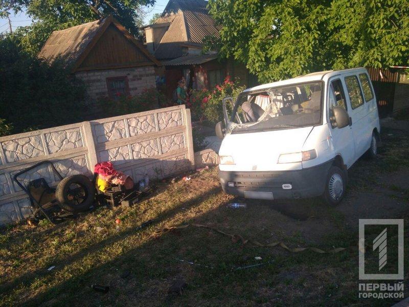 ДТП в Кривом Роге: 5 человек пострадали в результате столкновения микроавтобусов, - ФОТО, фото-4