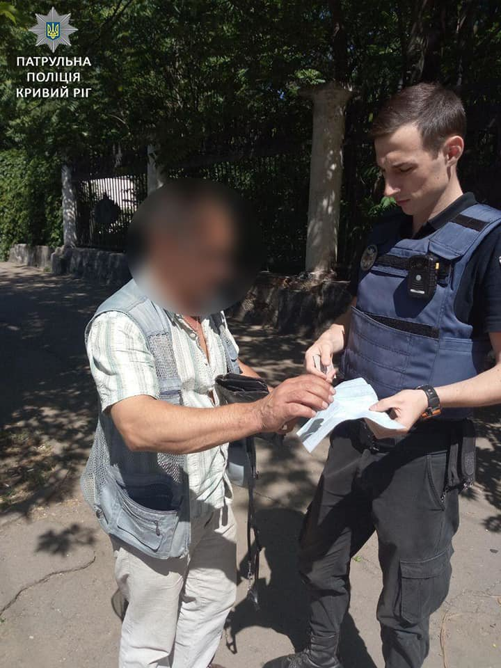 """Криворожский маршрутчик, проехавший на """"красный"""", заплатит штраф. - ФОТО, фото-1"""