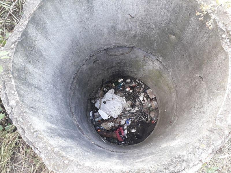 В Кривом Роге неизвестные выбросили в колодец мешок с живым псом, - ФОТО, фото-2