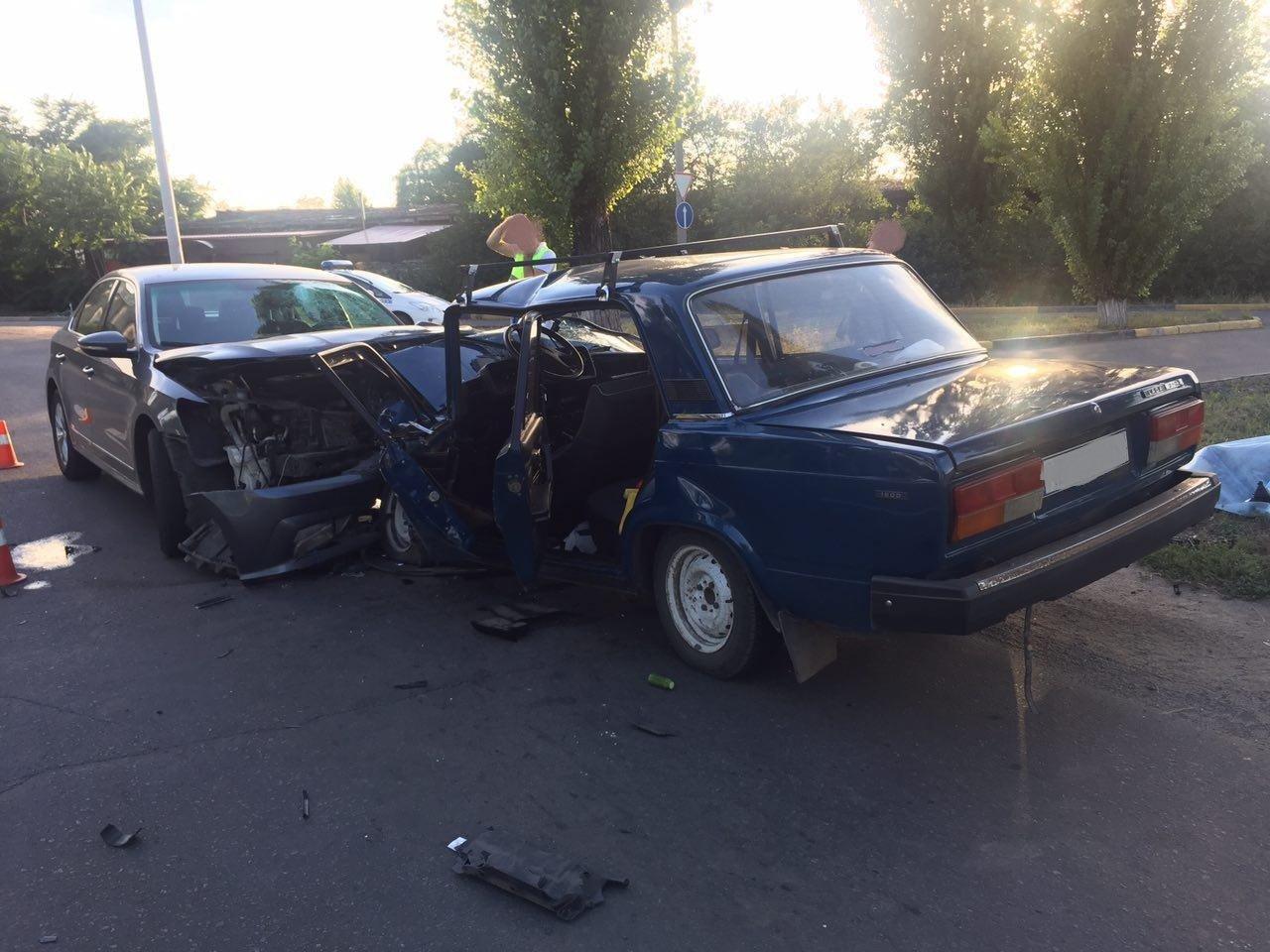 ДТП в Кривом Роге: один человек погиб на месте, трое в больнице, - ФОТО, фото-2