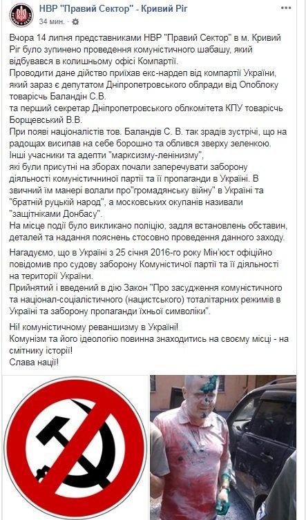 В Кривом Роге депутат от Опоблока оказался в муке и зеленке, - ФОТО, фото-1