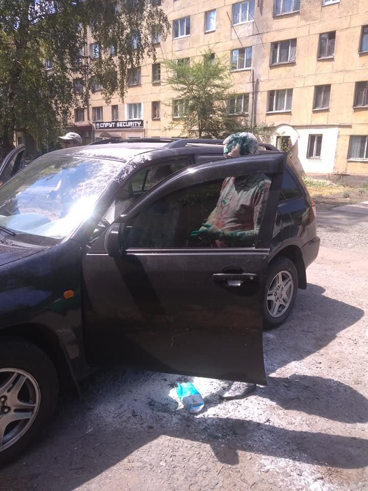 В Кривом Роге депутат от Опоблока оказался в муке и зеленке, - ФОТО, фото-4