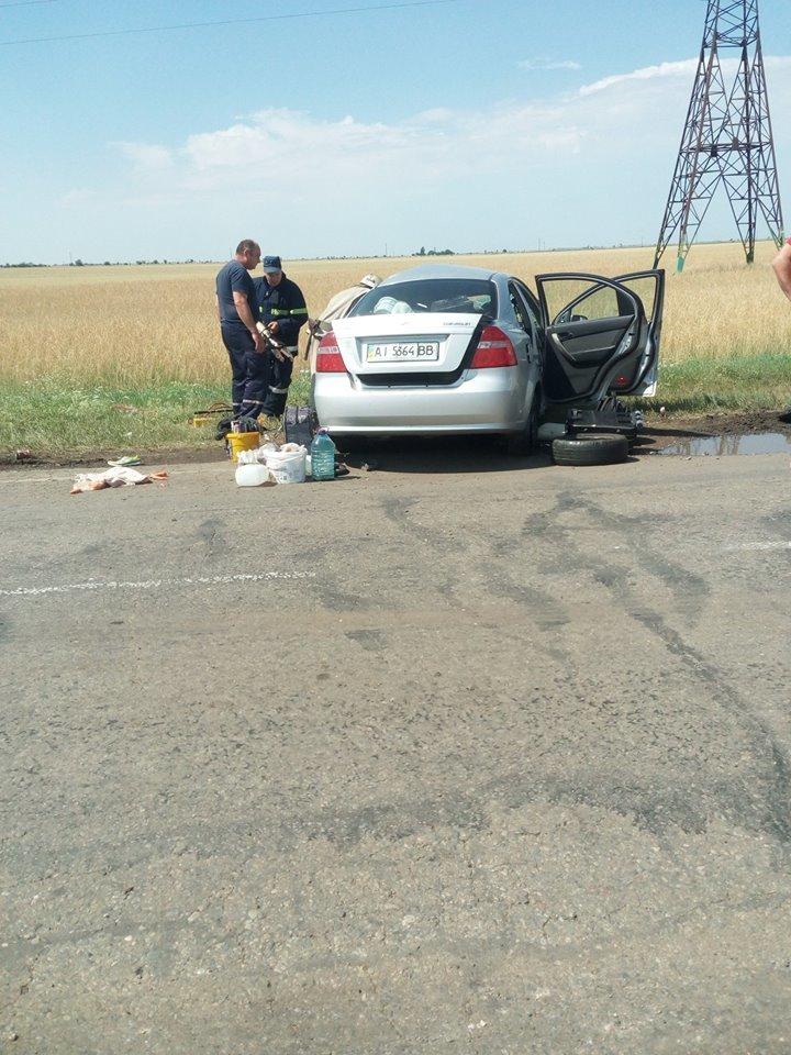 Криворожская маршрутка попала в жуткое ДТП на Херсонщине: 1 человек погиб, 4 травмировались, - ФОТО , фото-4