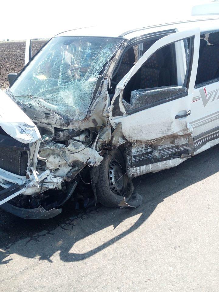 Криворожская маршрутка попала в жуткое ДТП на Херсонщине: 1 человек погиб, 4 травмировались, - ФОТО , фото-5