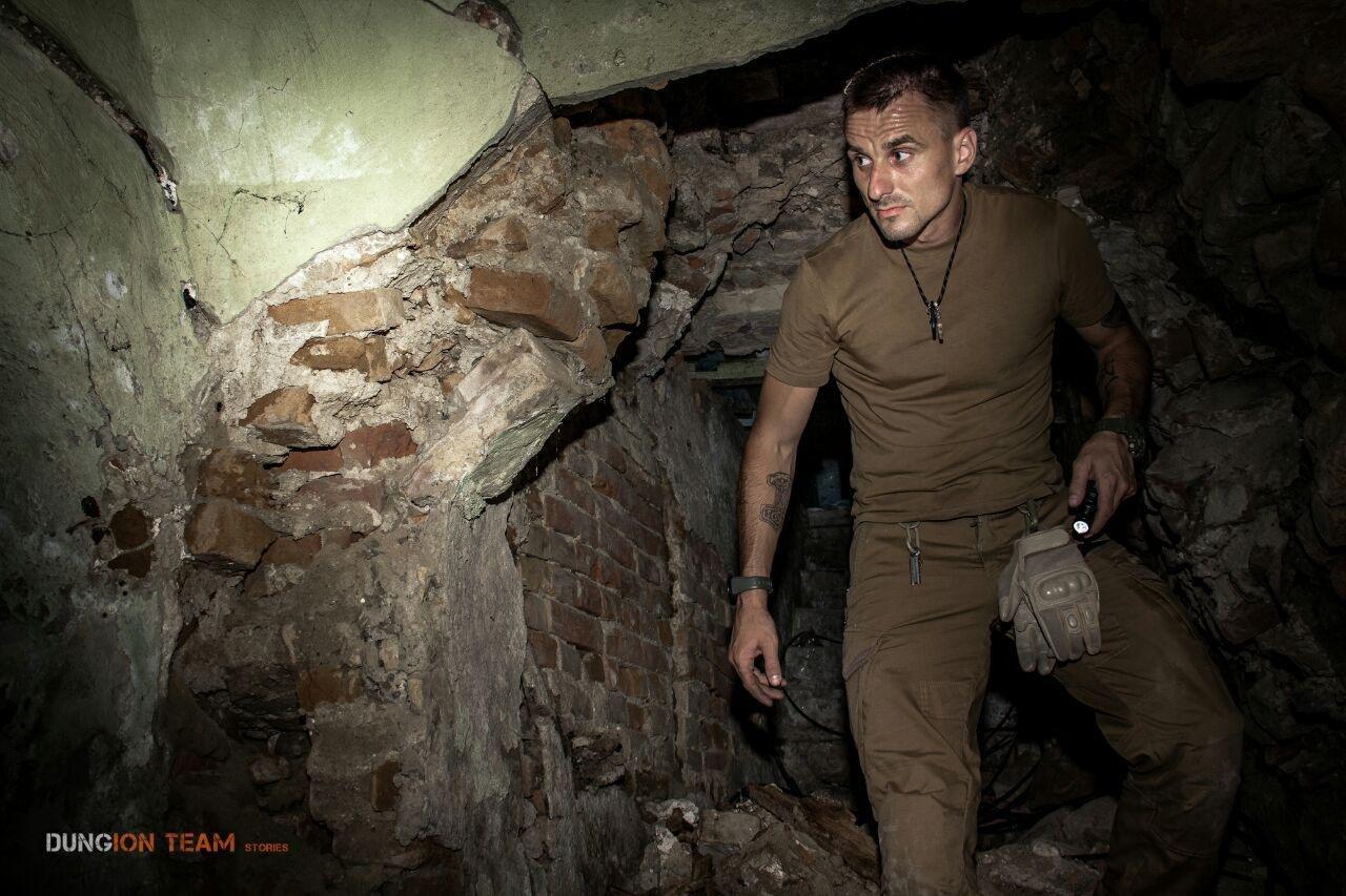 Криворожские исследователи-экстремалы помогают искать старинные купеческие катакомбы в Никополе, - ФОТО, фото-12