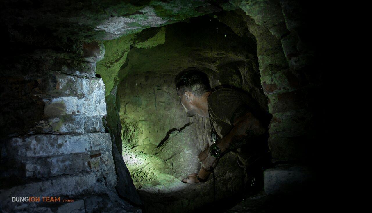 Криворожские исследователи-экстремалы помогают искать старинные купеческие катакомбы в Никополе, - ФОТО, фото-7