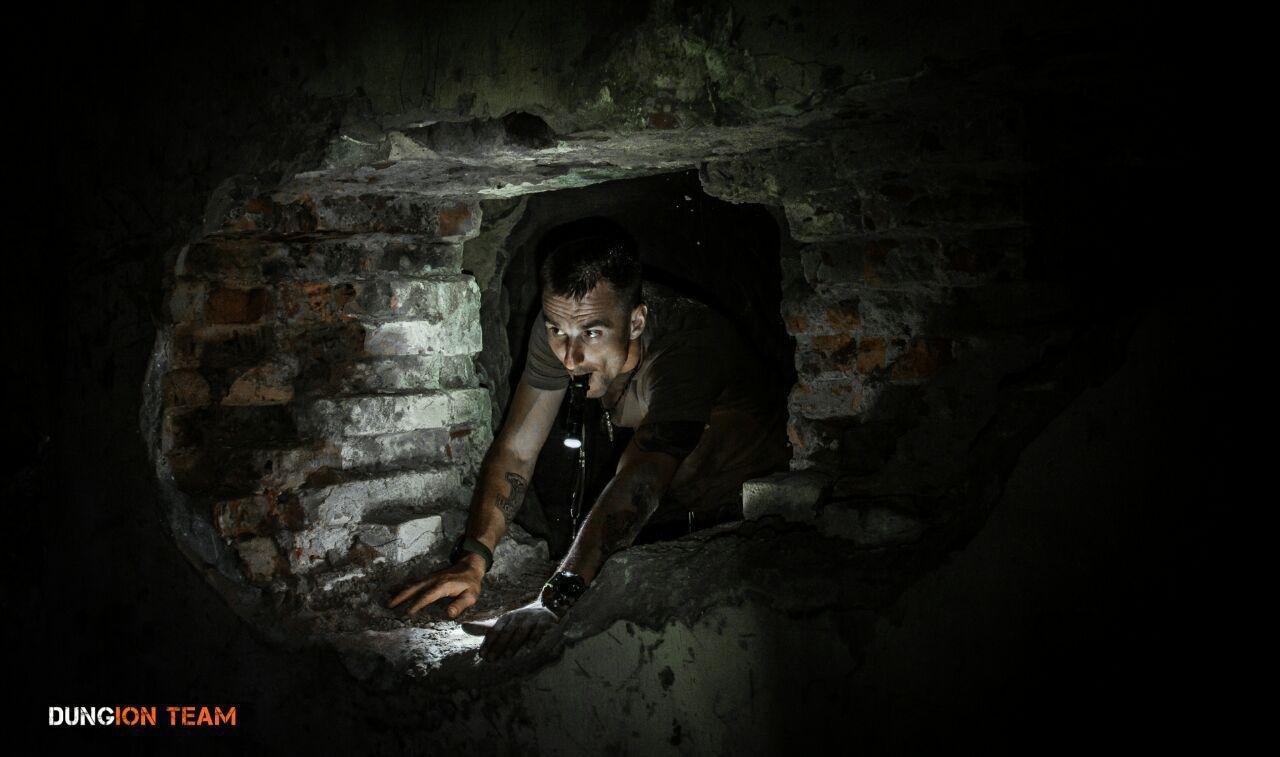 Криворожские исследователи-экстремалы помогают искать старинные купеческие катакомбы в Никополе, - ФОТО, фото-8