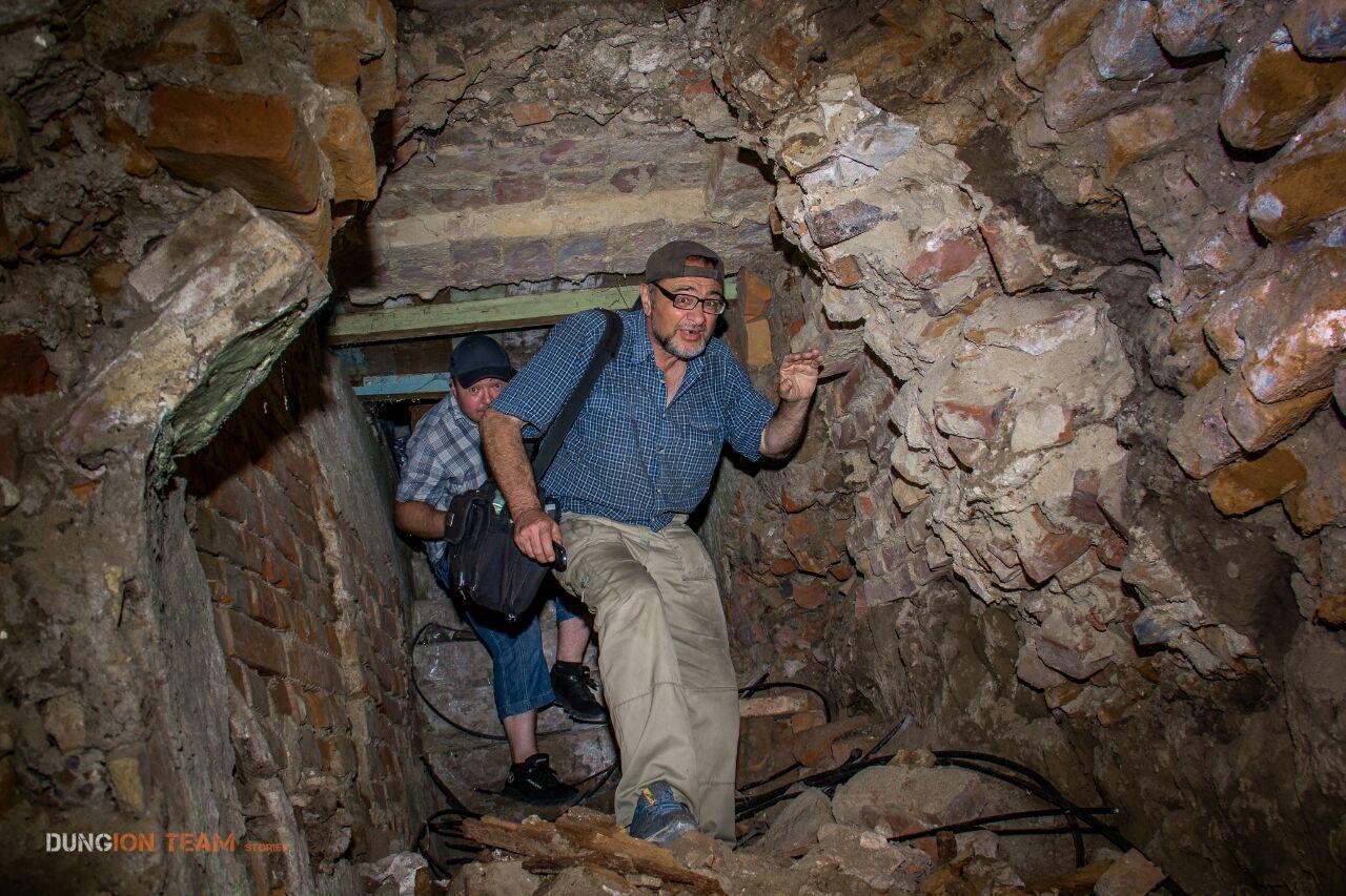 Криворожские исследователи-экстремалы помогают искать старинные купеческие катакомбы в Никополе, - ФОТО, фото-14