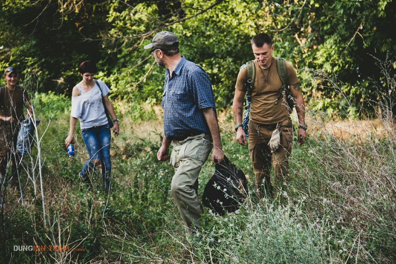 Криворожские исследователи-экстремалы помогают искать старинные купеческие катакомбы в Никополе, - ФОТО, фото-16