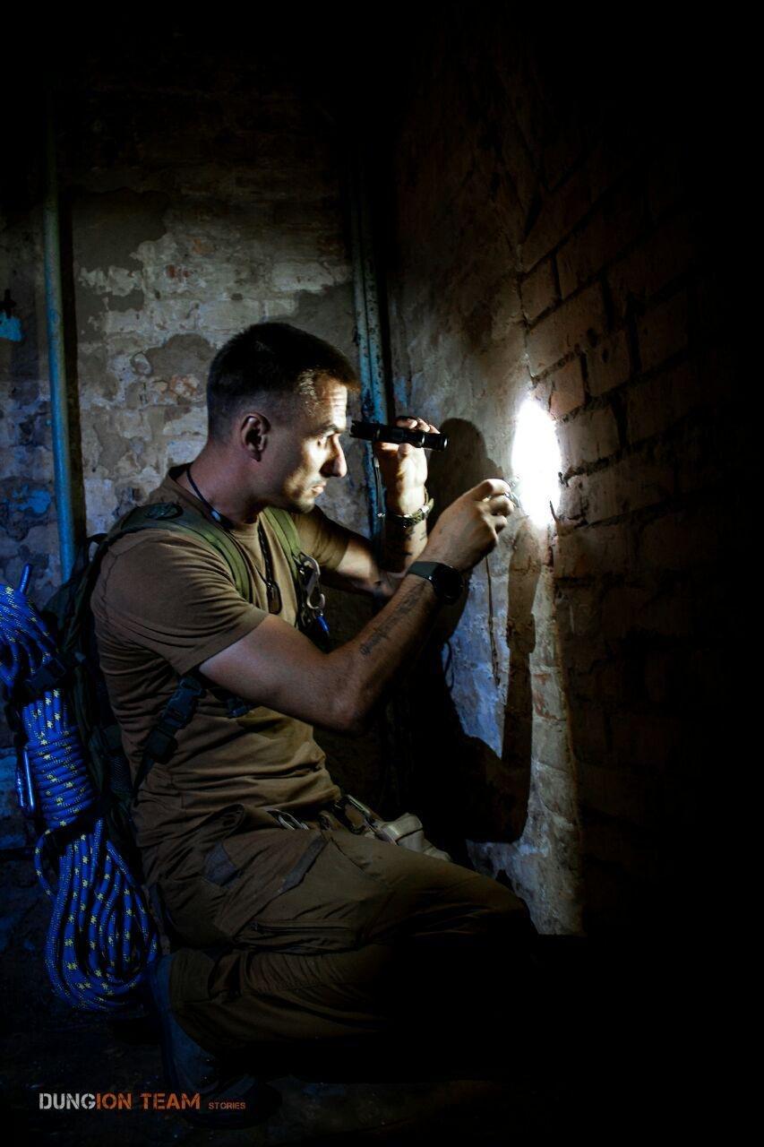 Криворожские исследователи-экстремалы помогают искать старинные купеческие катакомбы в Никополе, - ФОТО, фото-5