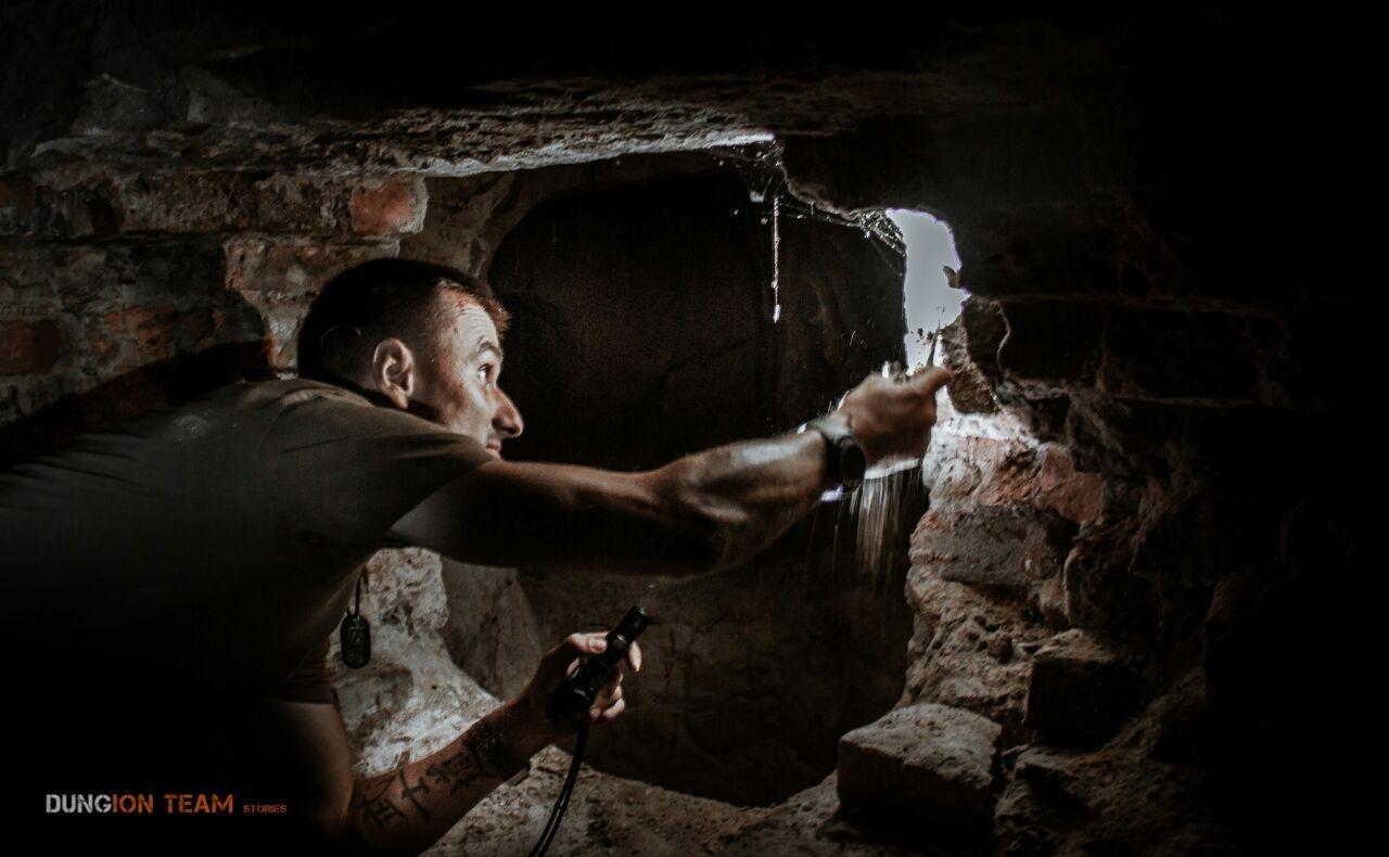 Криворожские исследователи-экстремалы помогают искать старинные купеческие катакомбы в Никополе, - ФОТО, фото-10