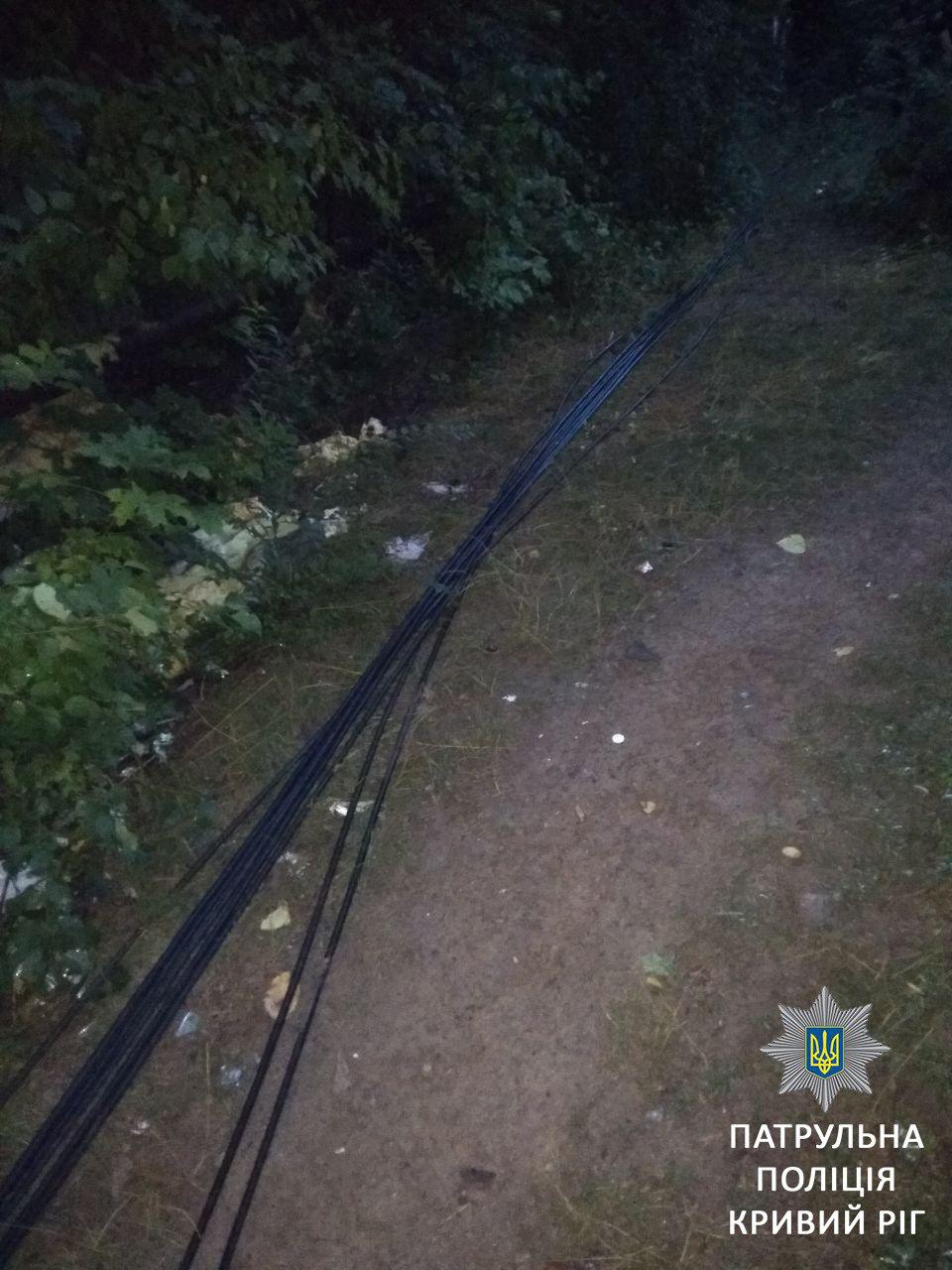 Двое криворожан не смогли объяснить, откуда взяли украденный кабель, - ФОТО, фото-4