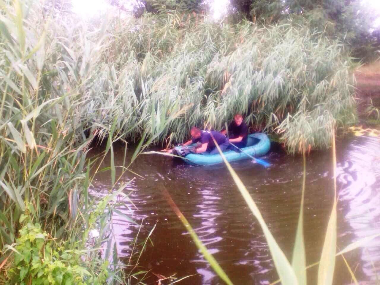 Под Кривым Рогом спасатели достали из водоема труп мужчины, - ФОТО, фото-1