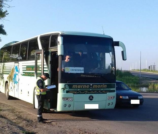В Кривом Роге начали проверять маршрутки, фото-1