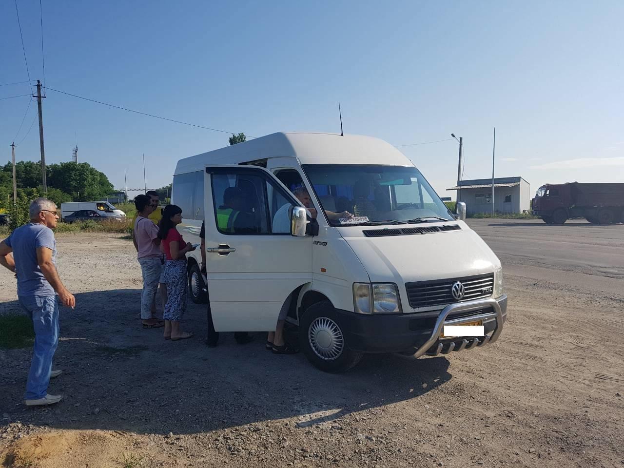 В Кривом Роге начали проверять маршрутки, фото-4