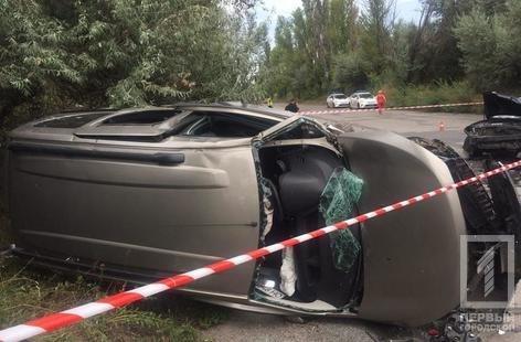 """В Кривом Роге в результате лобового столкновения """"Hyundai"""" и """"Renault""""  пострадали два человека, - ФОТО 18+, фото-1"""