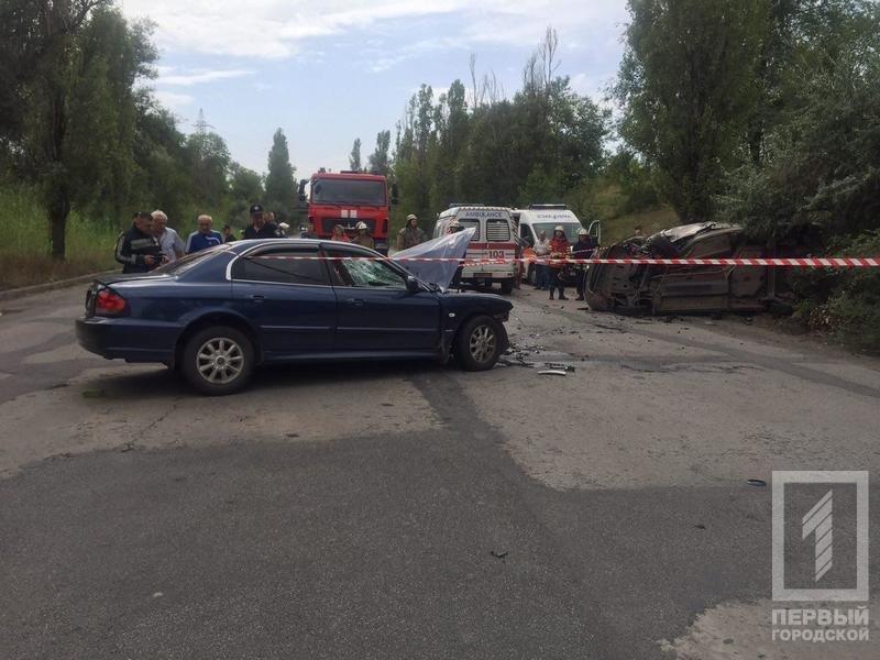 """В Кривом Роге в результате лобового столкновения """"Hyundai"""" и """"Renault""""  пострадали два человека, - ФОТО 18+, фото-5"""