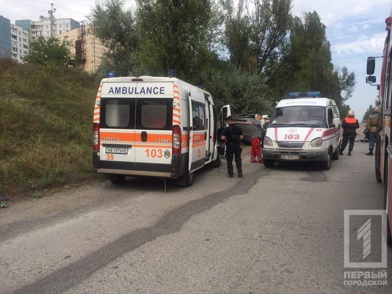 """В Кривом Роге в результате лобового столкновения """"Hyundai"""" и """"Renault""""  пострадали два человека, - ФОТО 18+, фото-3"""