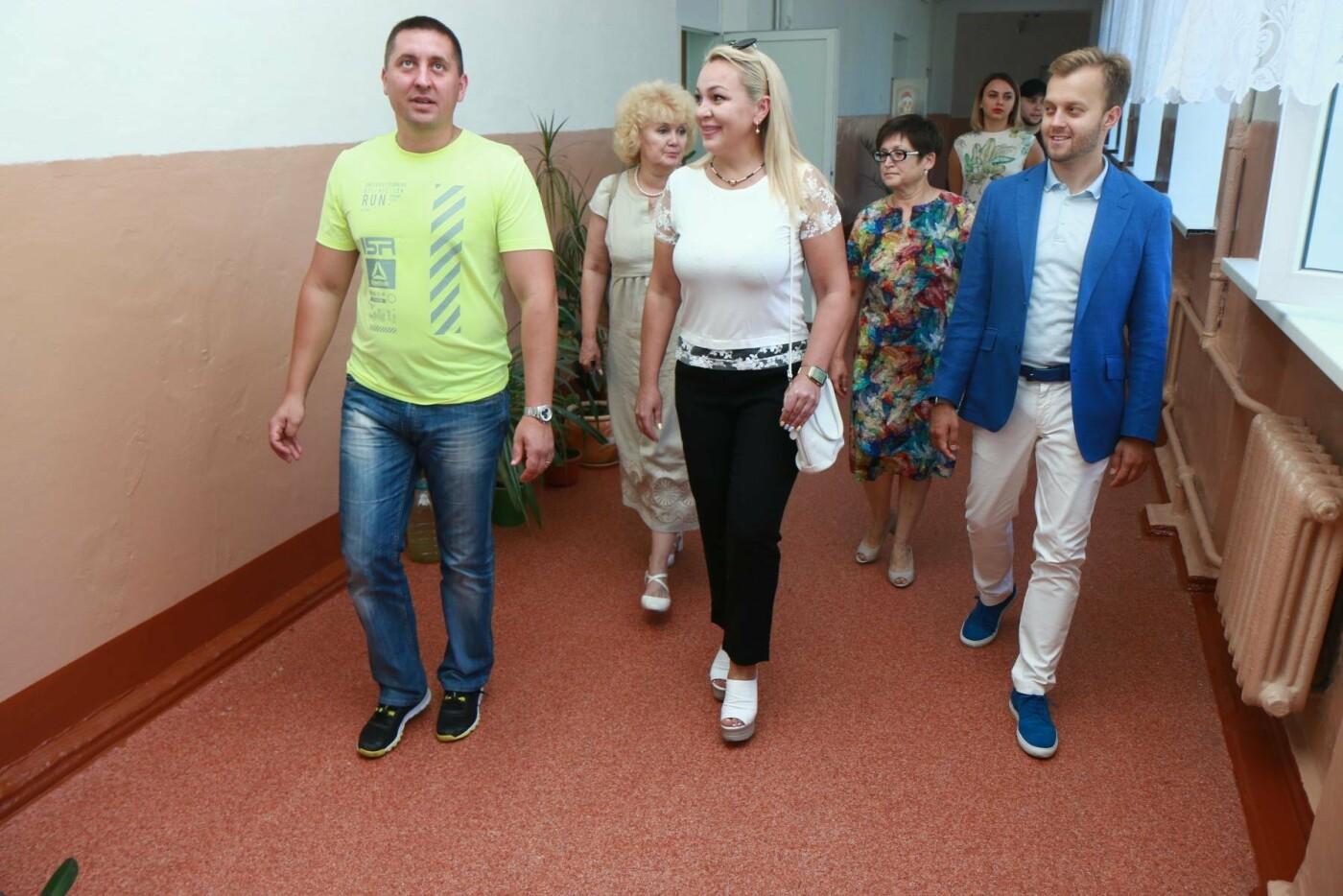 Нардеп Усов принял ремонт школы №60 в Кривом Роге, фото-5