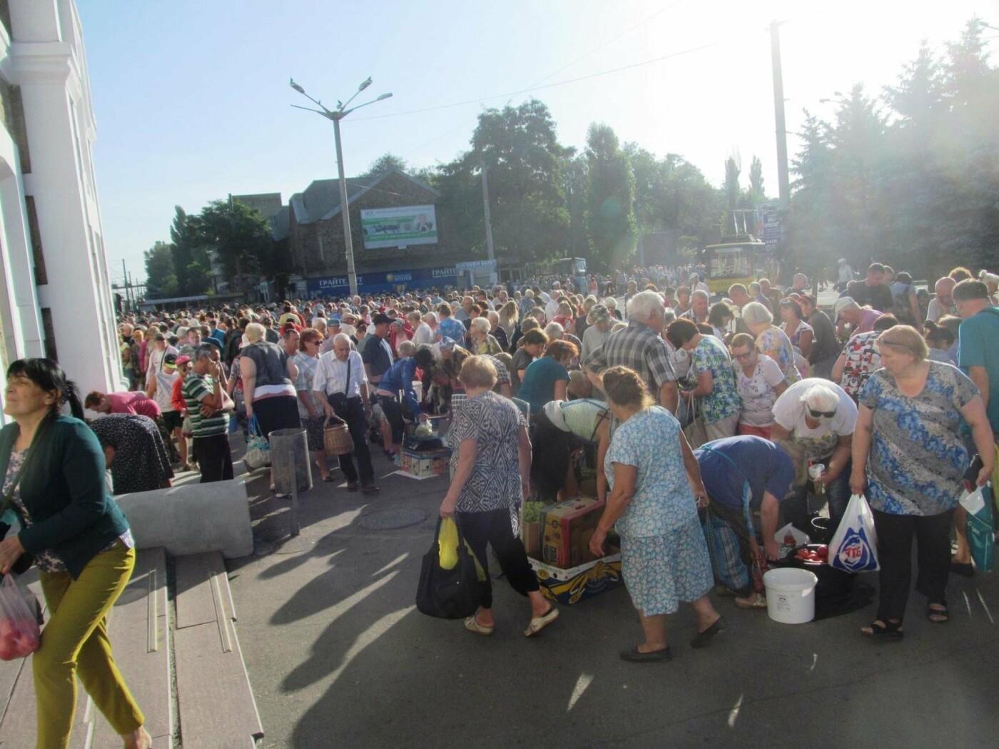Базар-вокзал в Кривом Роге: Горожане предложили упорядочить стихийный рынок на Долгинцево, - ФОТО, фото-3