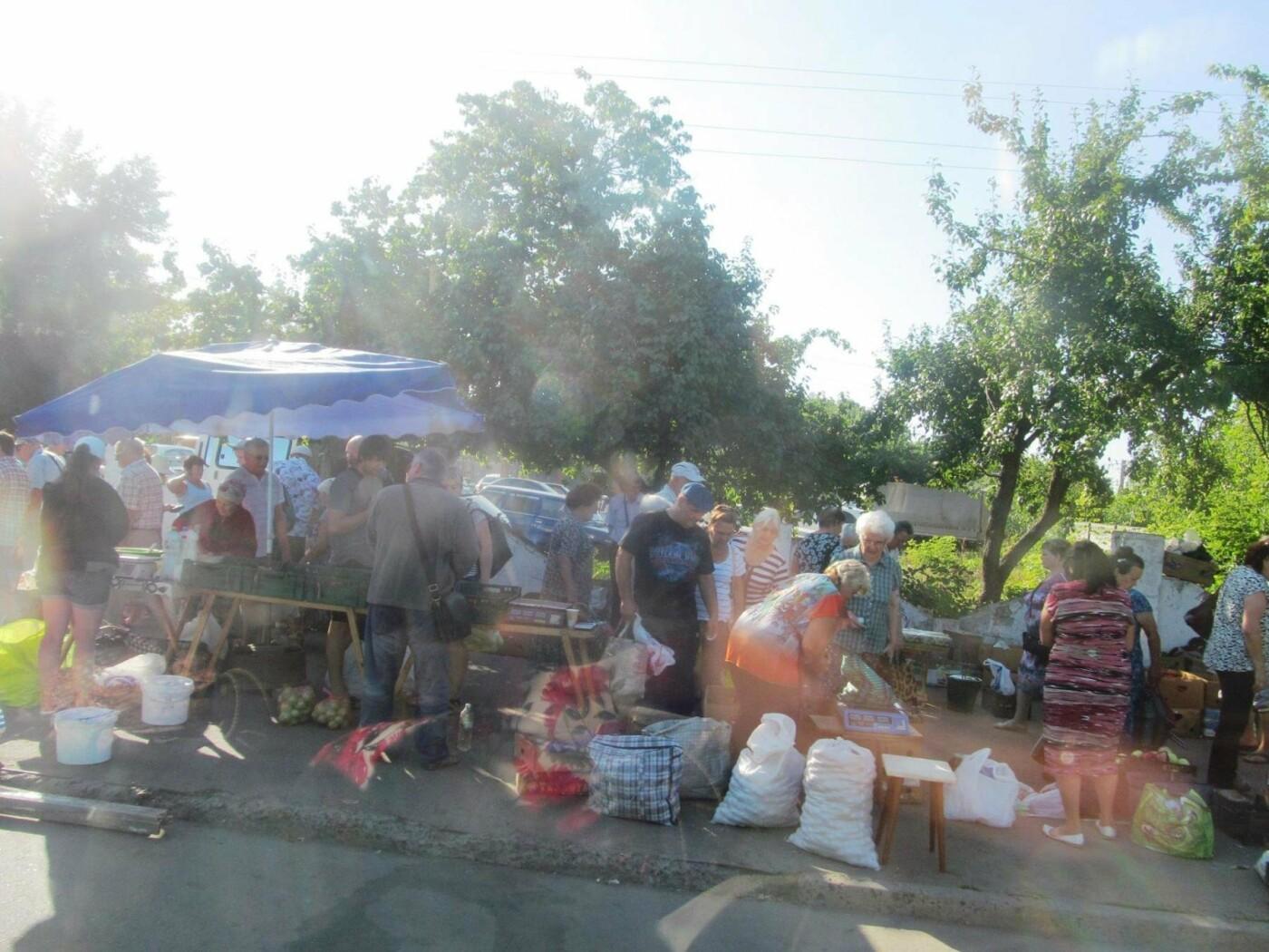 Базар-вокзал в Кривом Роге: Горожане предложили упорядочить стихийный рынок на Долгинцево, - ФОТО, фото-5