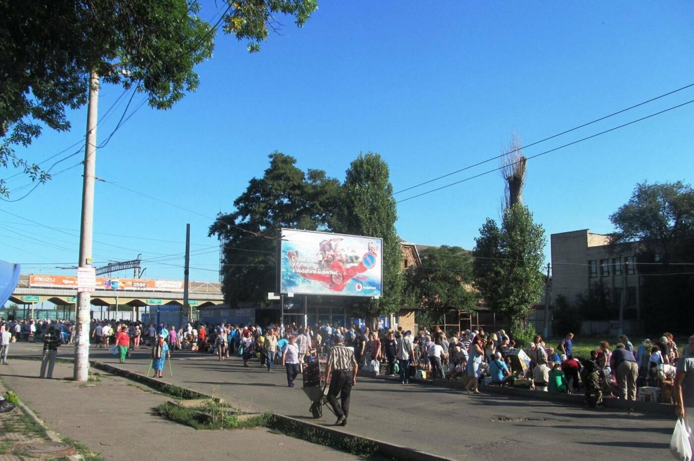 Базар-вокзал в Кривом Роге: Горожане предложили упорядочить стихийный рынок на Долгинцево, - ФОТО, фото-9