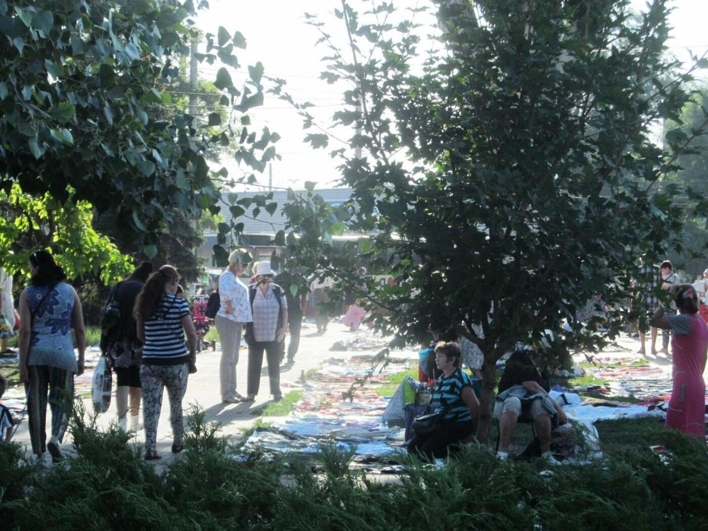 Базар-вокзал в Кривом Роге: Горожане предложили упорядочить стихийный рынок на Долгинцево, - ФОТО, фото-15
