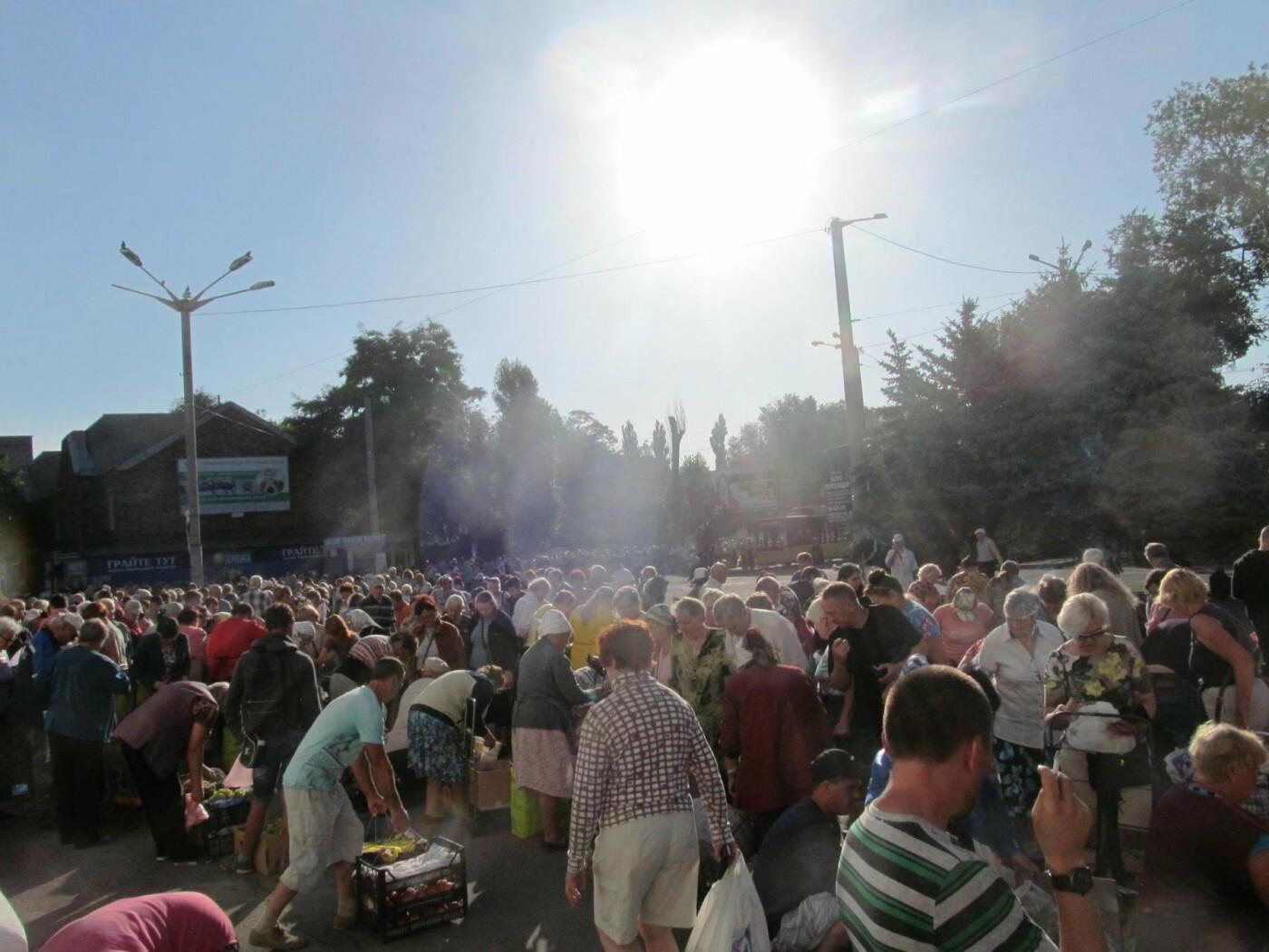 Базар-вокзал в Кривом Роге: Горожане предложили упорядочить стихийный рынок на Долгинцево, - ФОТО, фото-12