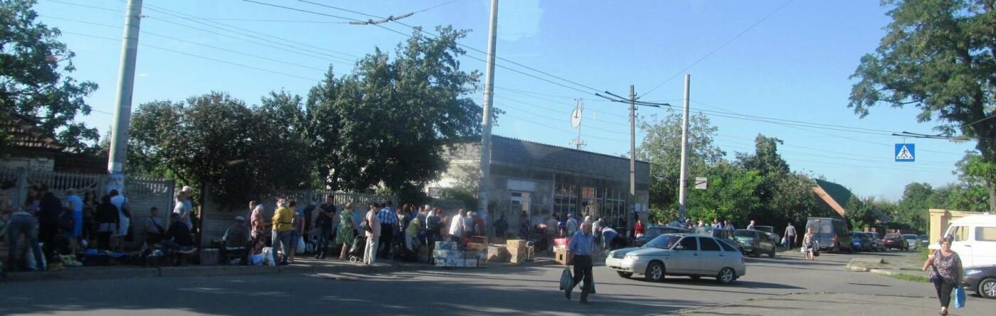 Базар-вокзал в Кривом Роге: Горожане предложили упорядочить стихийный рынок на Долгинцево, - ФОТО, фото-11