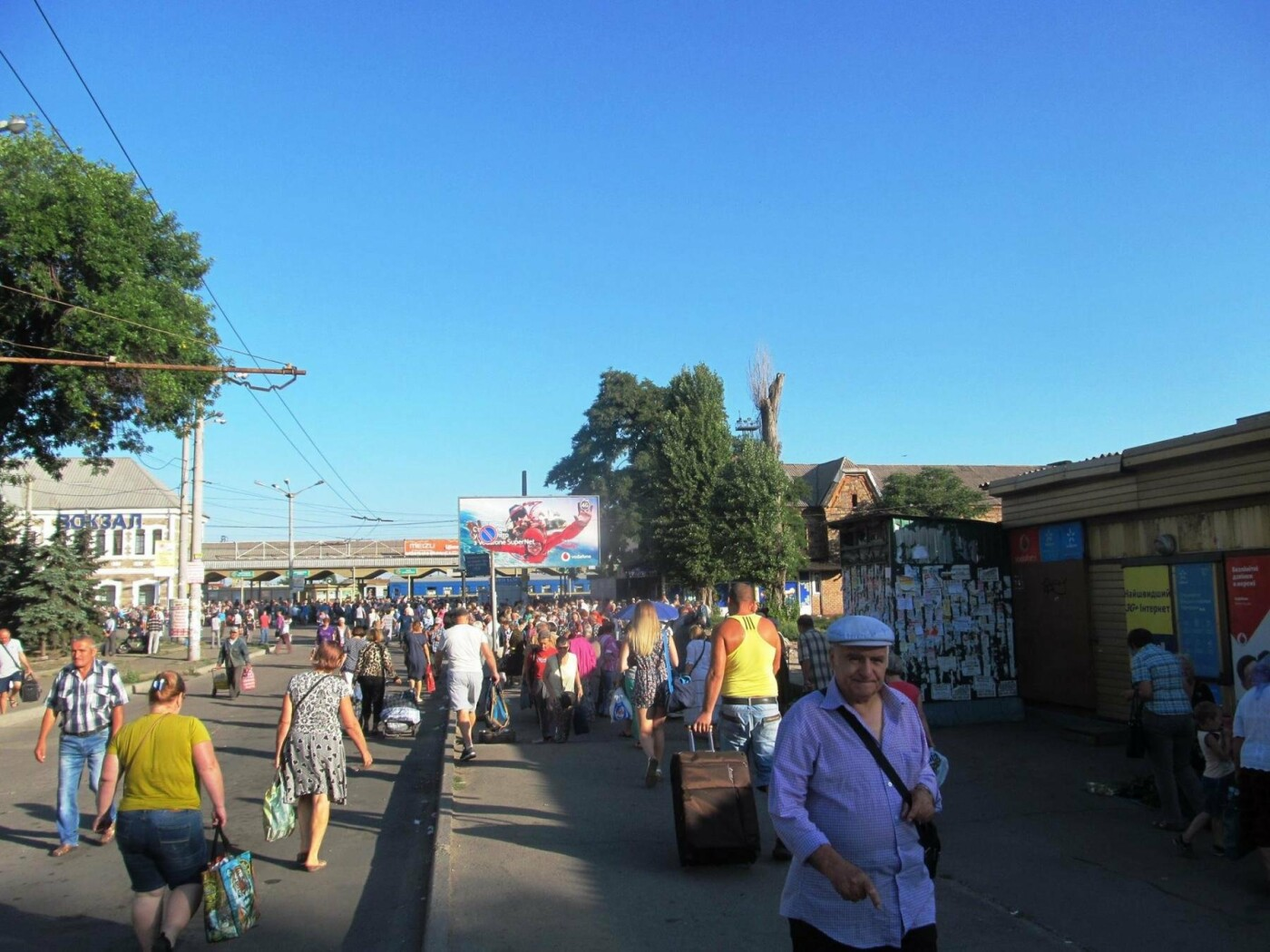 Базар-вокзал в Кривом Роге: Горожане предложили упорядочить стихийный рынок на Долгинцево, - ФОТО, фото-13