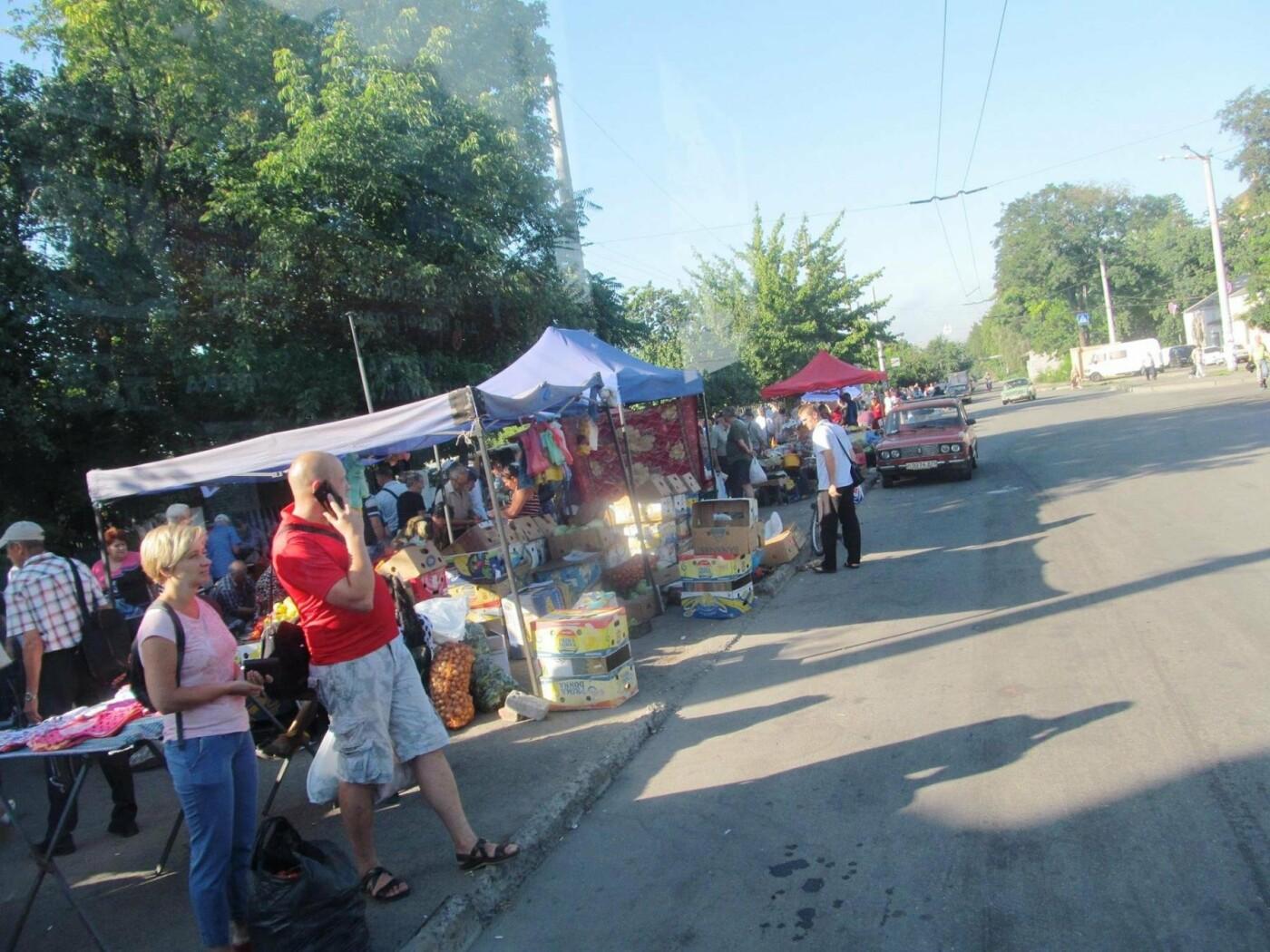 Базар-вокзал в Кривом Роге: Горожане предложили упорядочить стихийный рынок на Долгинцево, - ФОТО, фото-18