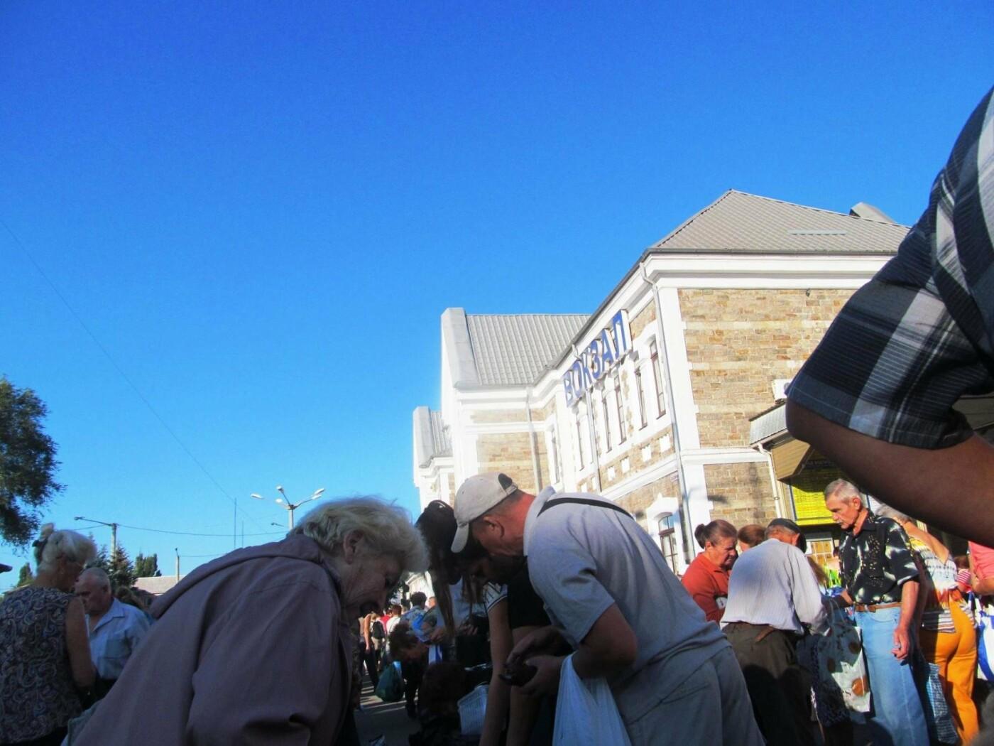 Базар-вокзал в Кривом Роге: Горожане предложили упорядочить стихийный рынок на Долгинцево, - ФОТО, фото-14