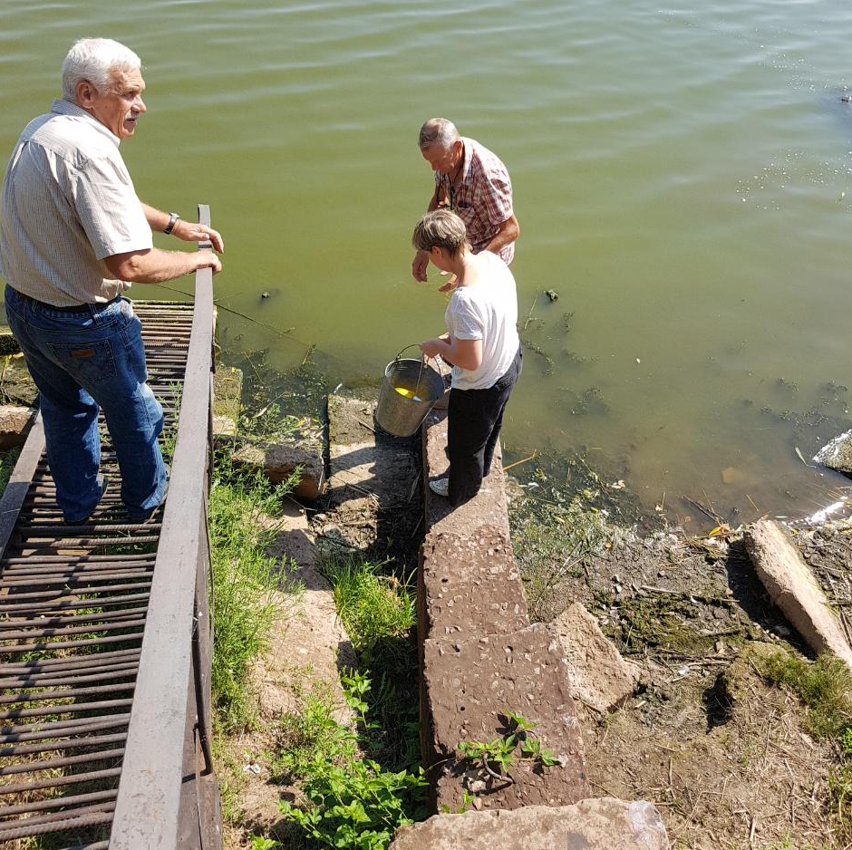 В Кривом Роге отобрали пробы воды из реки Саксагань для химического анализа, - ФОТО, фото-2