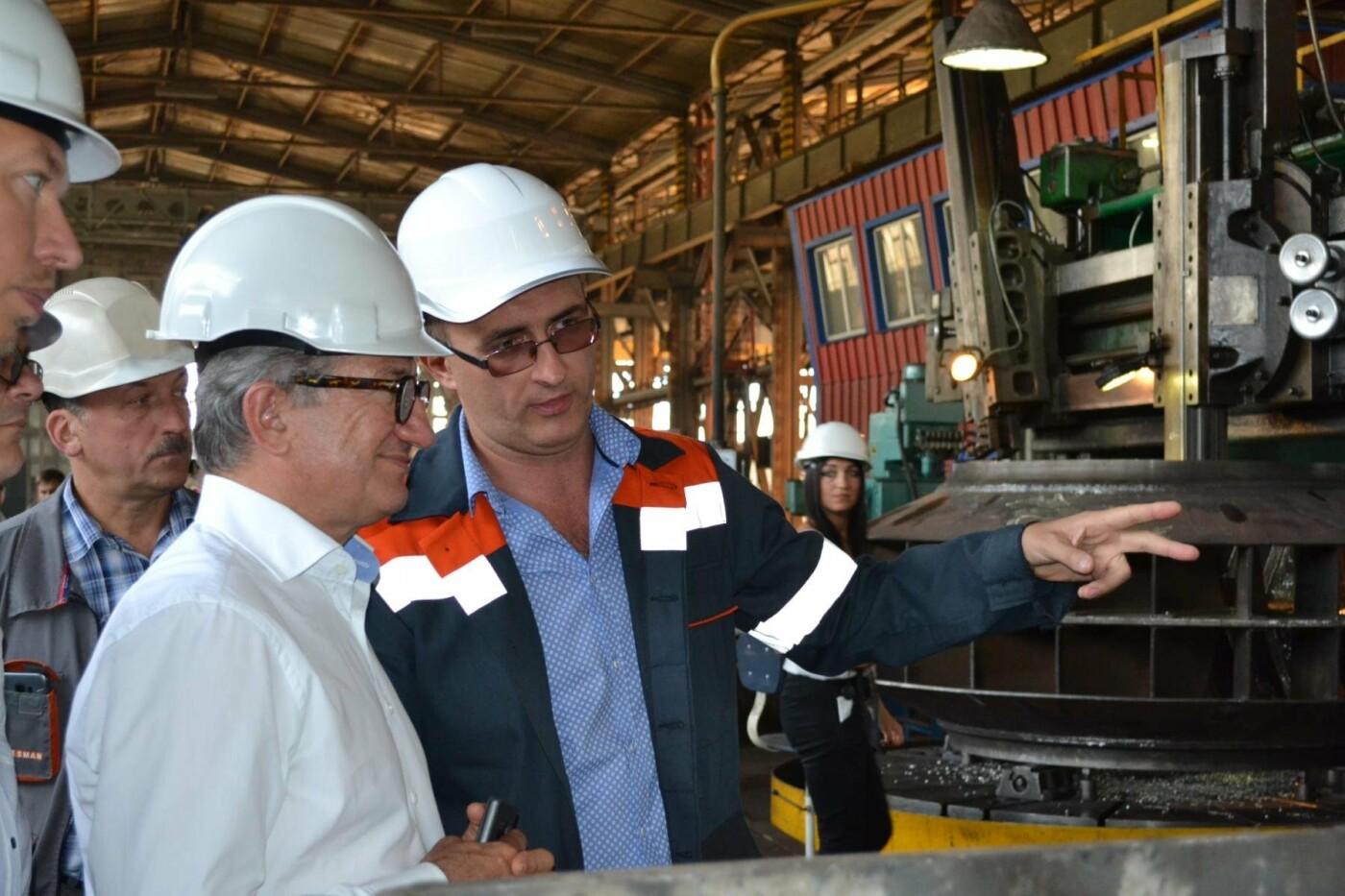 Что надо менять? - работники криворожского завода Steel Work получили ответ от Сергея Таруты, фото-9