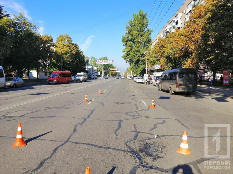 В Кривом Роге на пешеходном переходе мотоциклист сбил мужчину, - ФОТО , фото-2