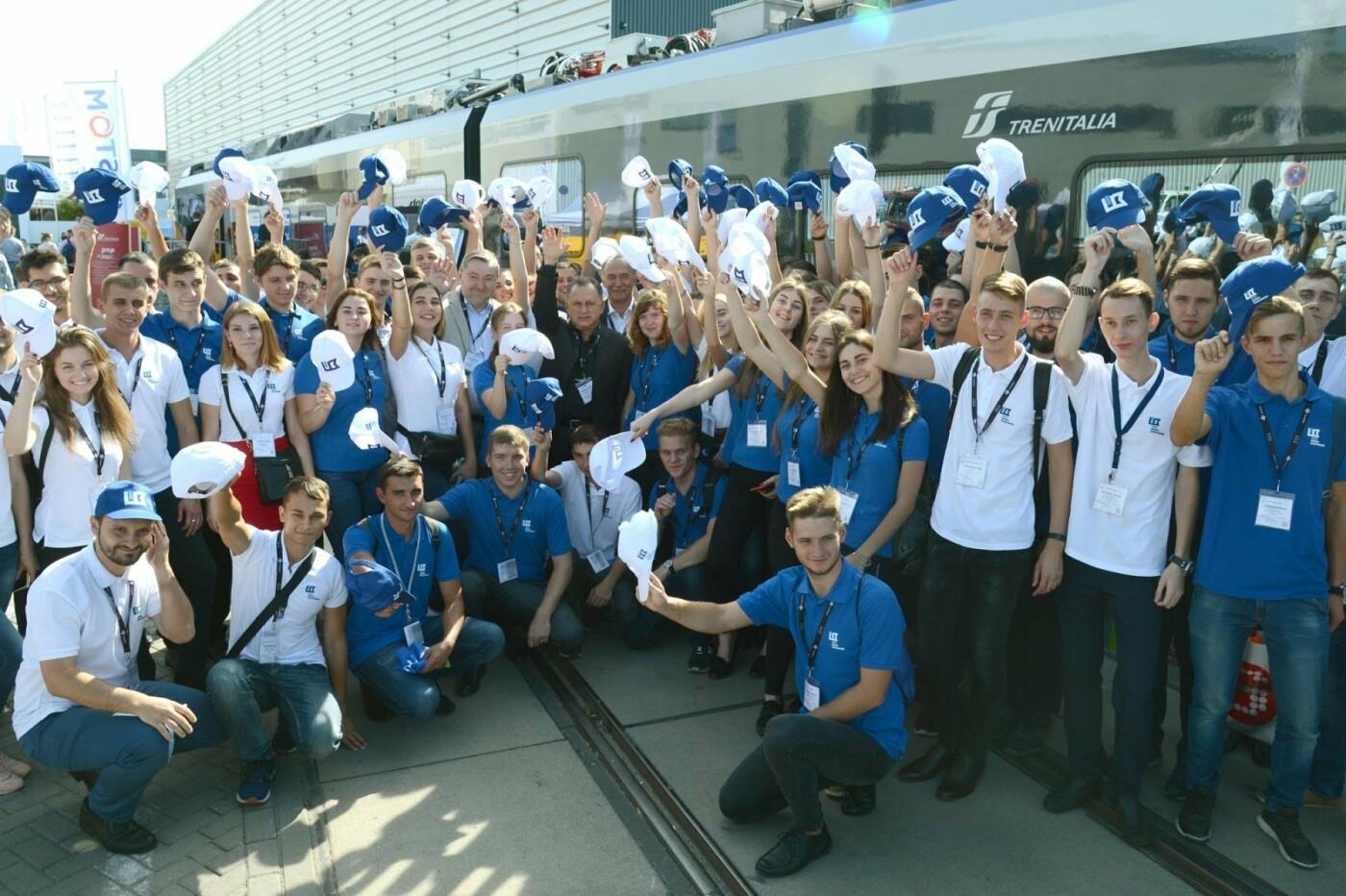 Студенты-железнодорожники из Кривого Рога побывали на выставке в Берлине , фото-4