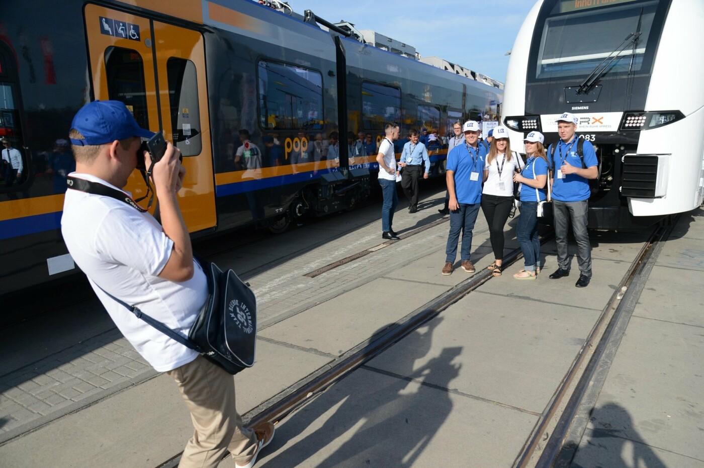 Студенты-железнодорожники из Кривого Рога побывали на выставке в Берлине , фото-2