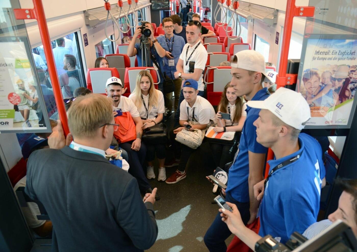 Студенты-железнодорожники из Кривого Рога побывали на выставке в Берлине , фото-5