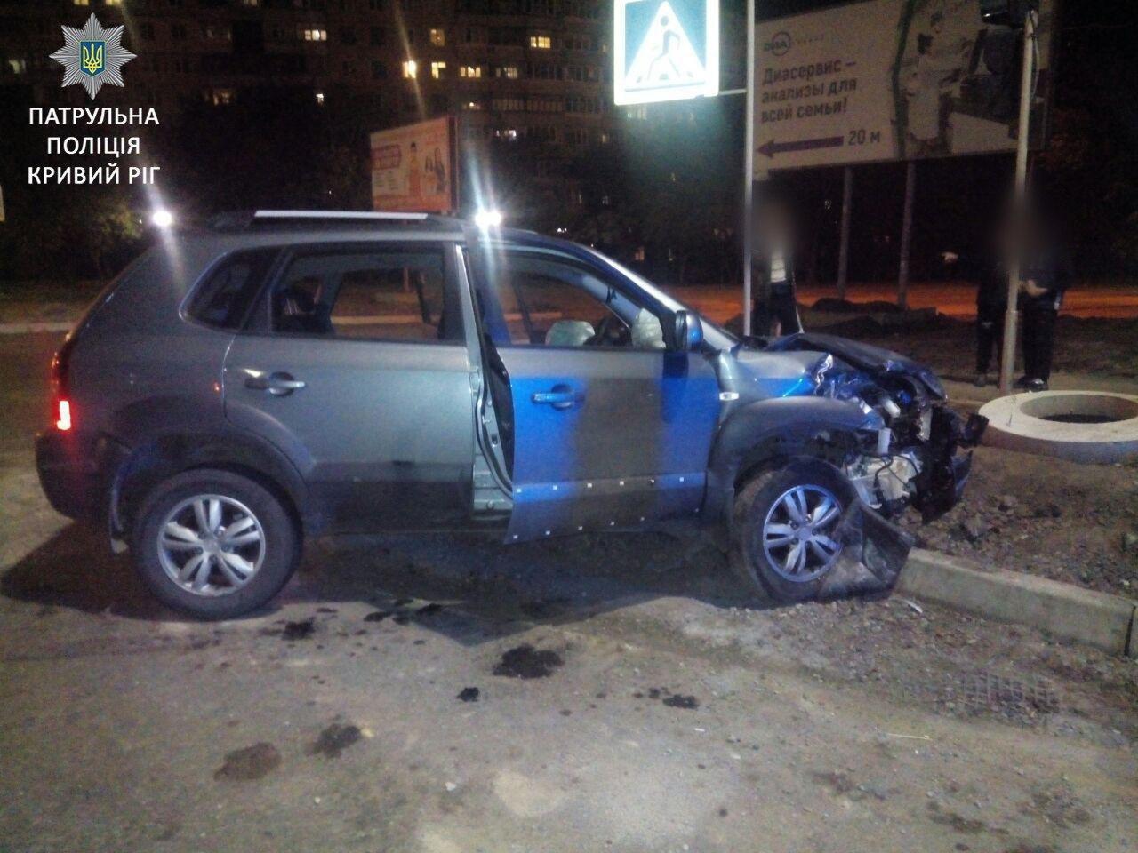 """В Кривом Роге в результате ДТП пострадал водитель Daewoo, который был """"под кайфом"""", - ФОТО, фото-2"""