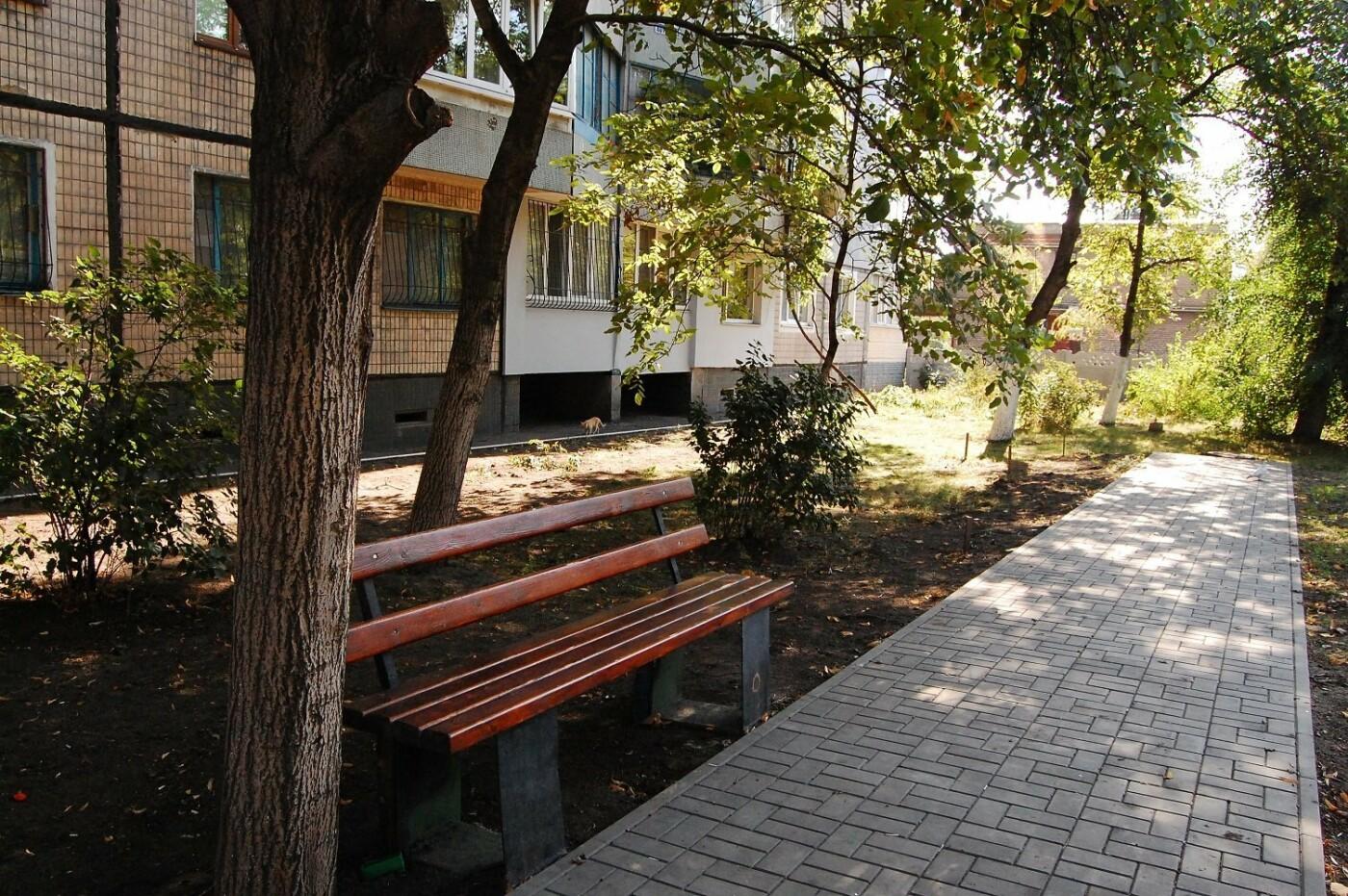 Южный ГОК дарит кованые беседки трем ОСМД Ингулецкого района , фото-6