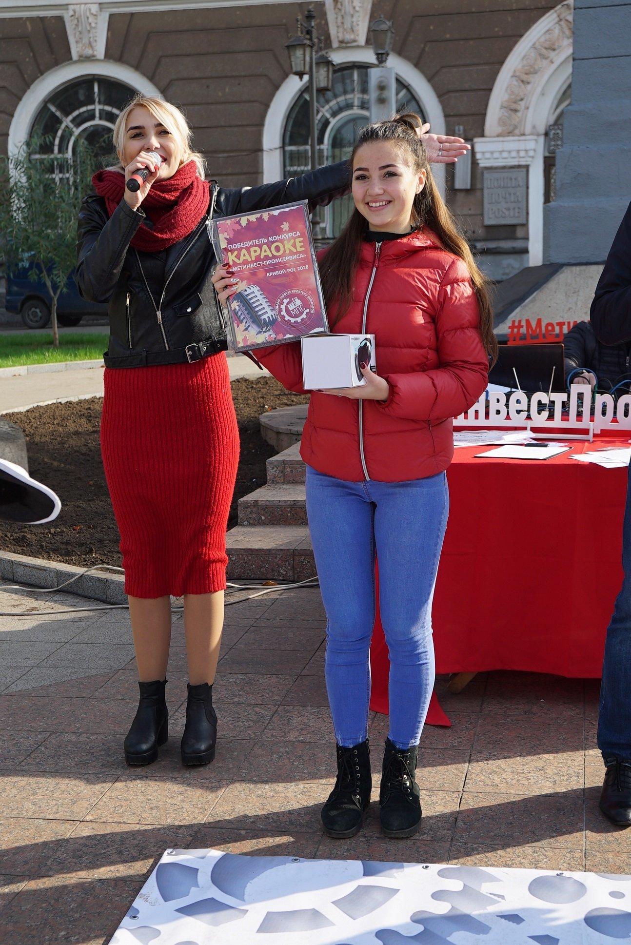 Караоке на Почтовом: «Метинвест-Промсервис» привез любимое развлечение на центральную площадь Кривого Рога, фото-2