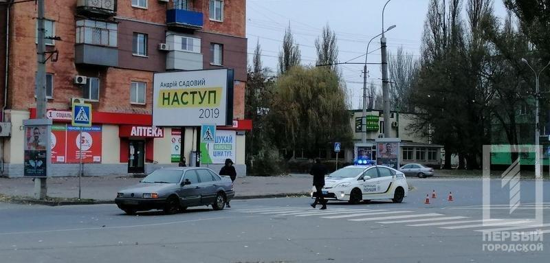 """ДТП в Кривом Роге: """"Volkswagen"""" сбил женщину на пешеходном переходе, - ФОТО , фото-1"""