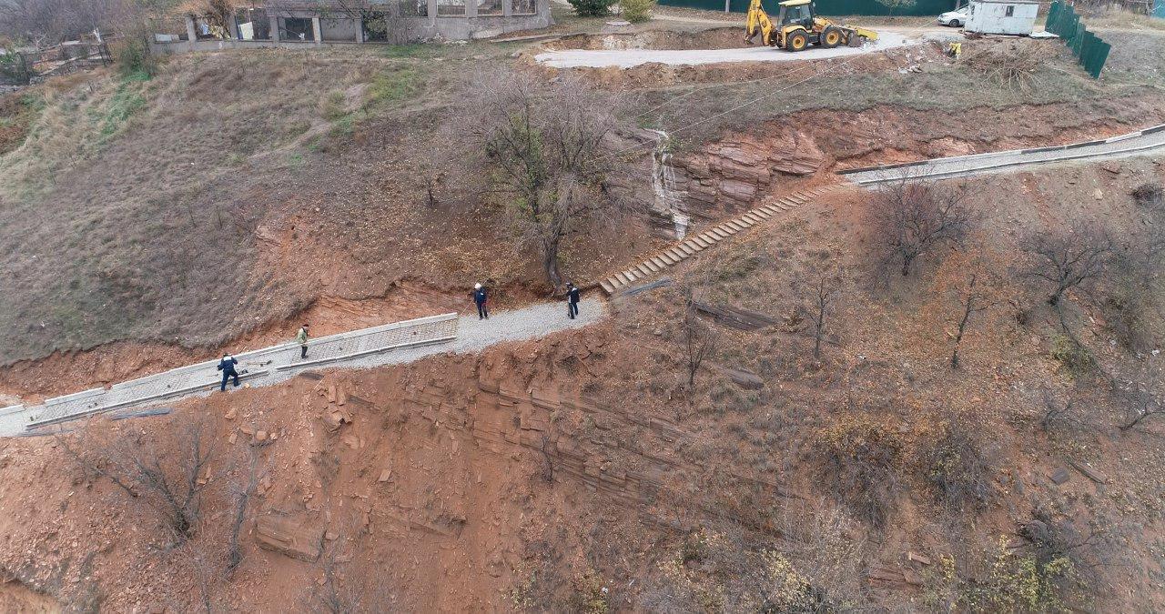 У нардепа Усова показали, как продвигается ремонт опасного спуска в Кривом Роге, фото-5