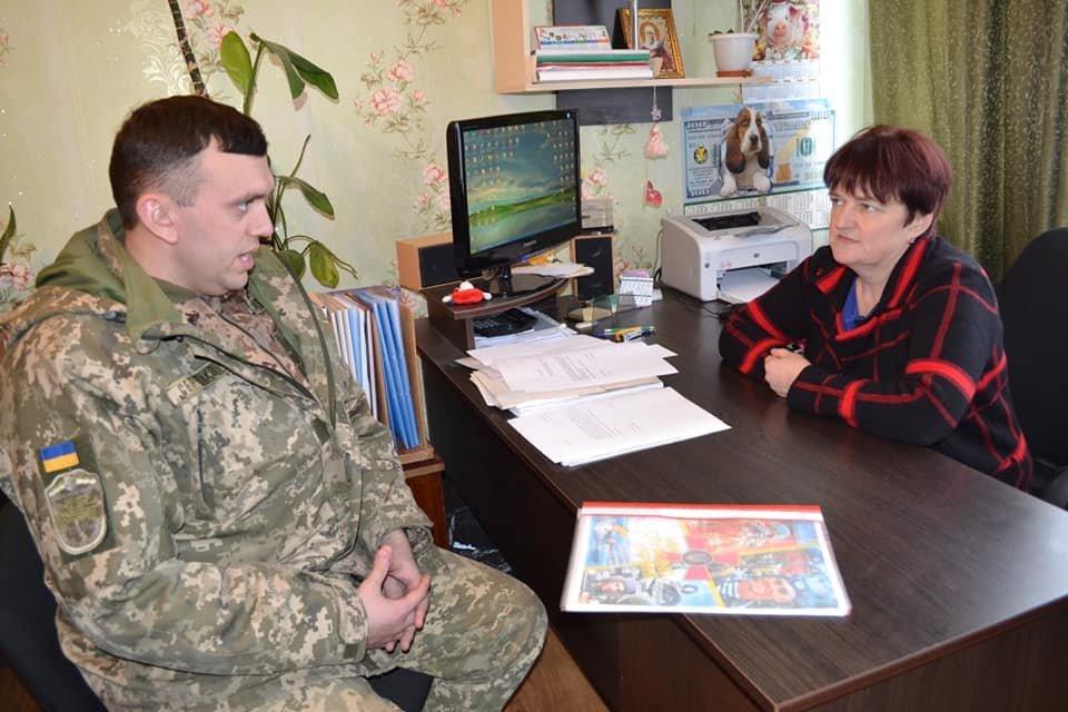 Криворожские танкисты отправились по селам агитировать народ, - ФОТО , фото-14