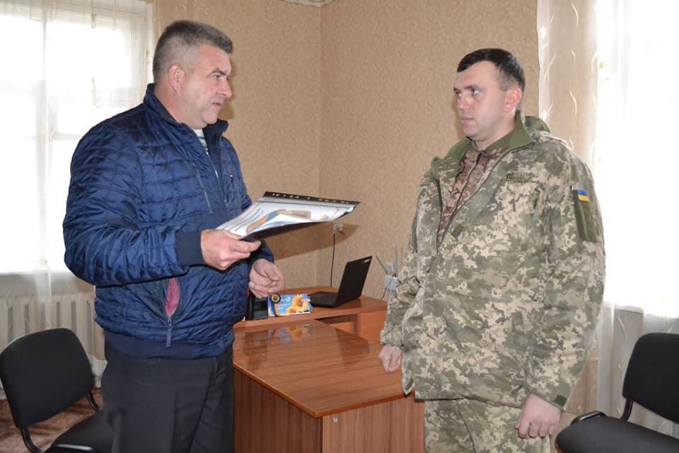 Криворожские танкисты отправились по селам агитировать народ, - ФОТО , фото-4