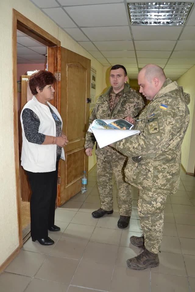 Криворожские танкисты отправились по селам агитировать народ, - ФОТО , фото-10