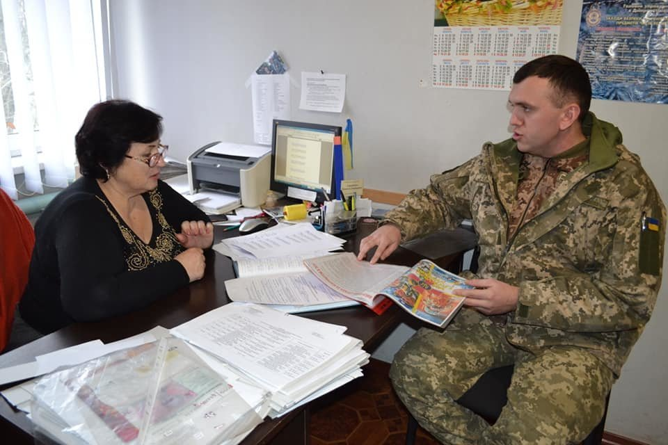 Криворожские танкисты отправились по селам агитировать народ, - ФОТО , фото-6