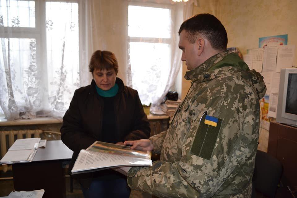Криворожские танкисты отправились по селам агитировать народ, - ФОТО , фото-3