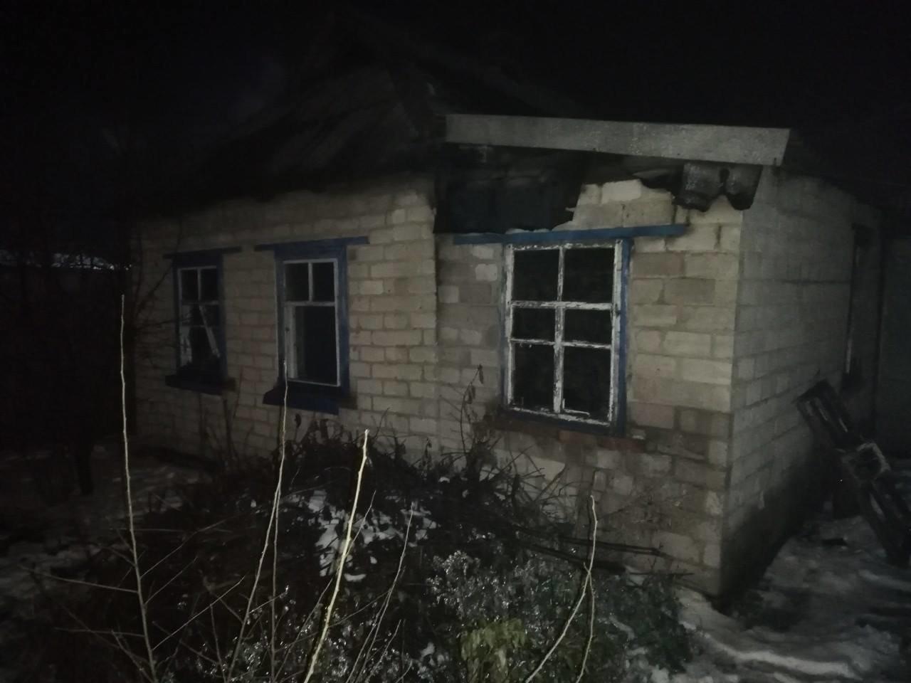 В Криворожском районе 50-летний мужчина сгорел в собственном доме, - ФОТО , фото-2