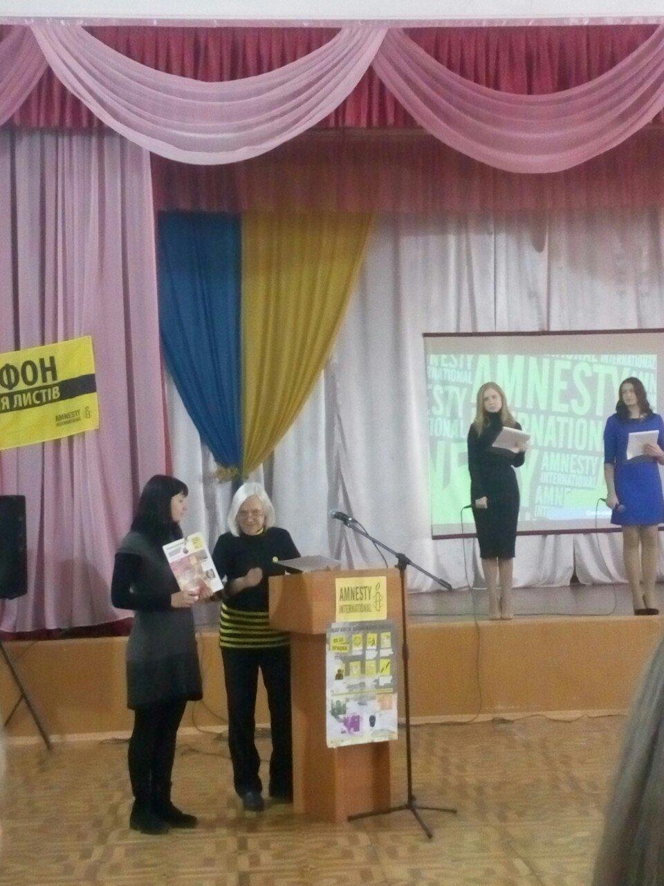 Эстафету Марафона Amnesty International в Кривом Роге подхватила 68-я школа, - ФОТО, фото-6